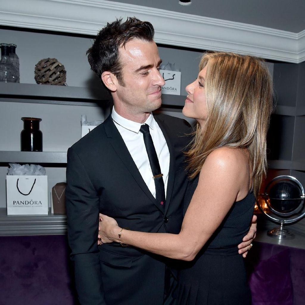 Jennifer Aniston-Justin Theroux Bertemu Terakhir Kali saat Valentine