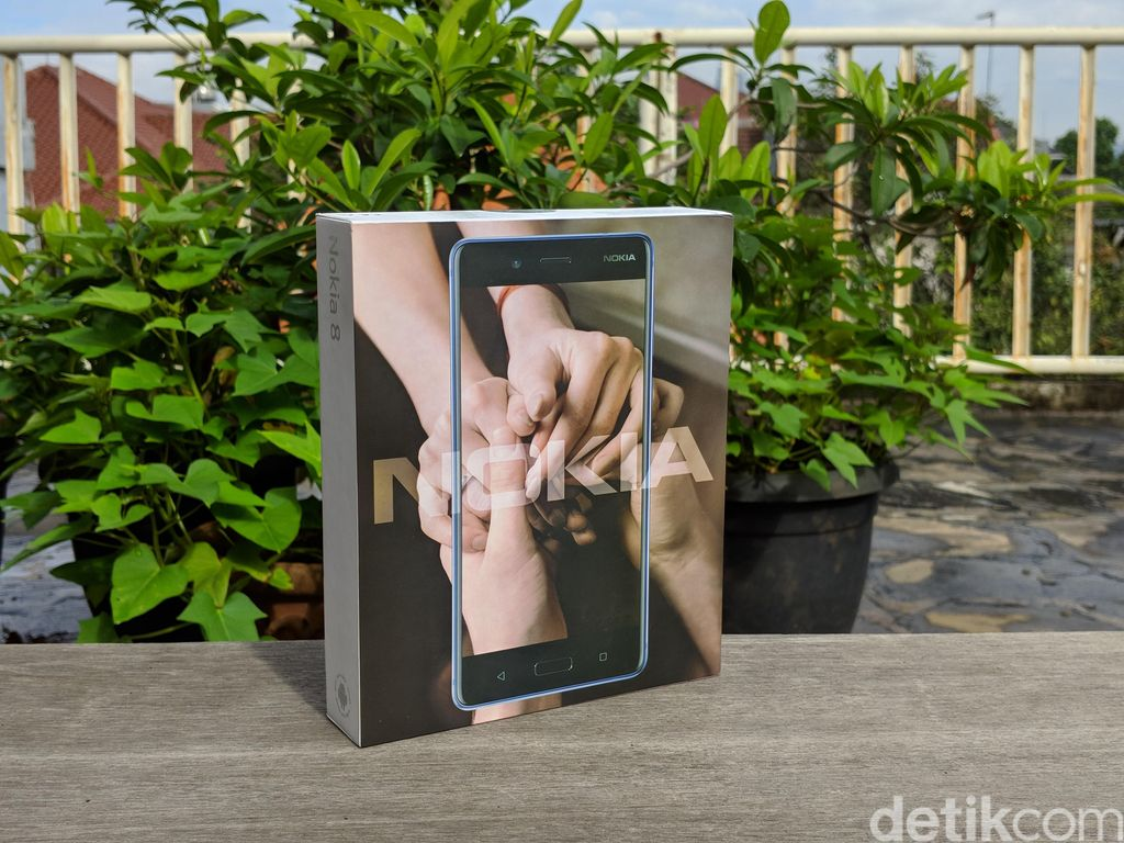 Nokia 8 pertama kali diperkenalkan secara global pada Agustus 2017. Foto: Adi Fida Rahman/detikINET