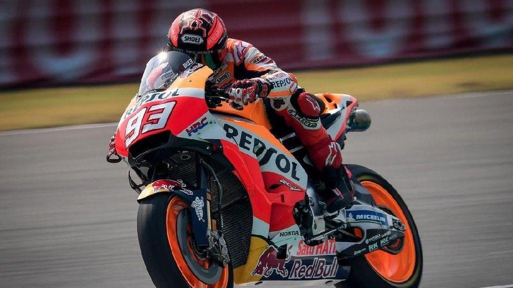 Atmosfer Positif Tim Honda Bikin Marquez Bahagia