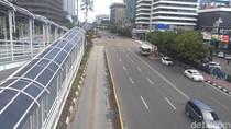 Libur Imlek, Lalin di Jakarta Lengang Pagi Ini