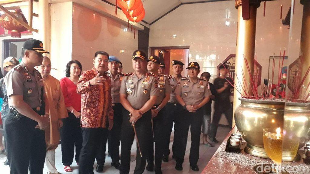 Cek Vihara di Bandung, Kapolda Jabar Jamin Keamanan Imlek