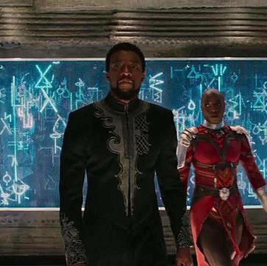 Baju Koko Black Panther Mejeng di Toko Online