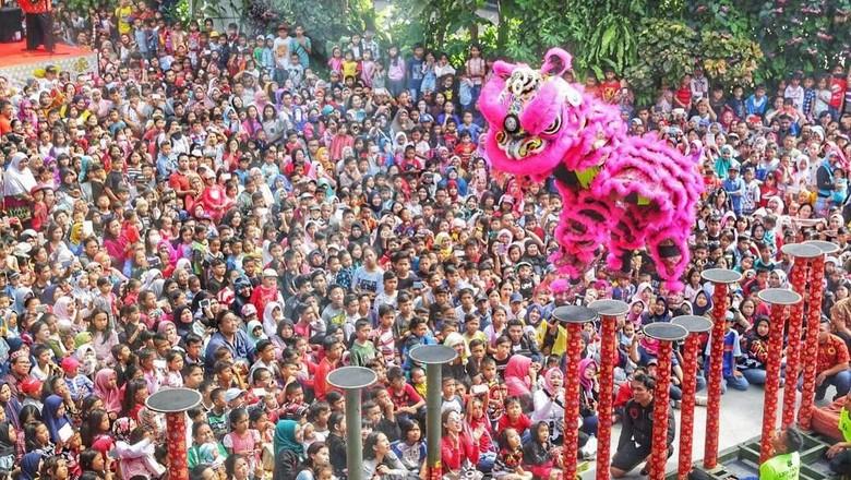 Pertunjukan Barongsai Tonggak di TSM Bandung (dok TSM Bandung)