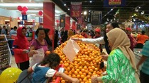 Promo Dahsyat Jeruk Mandarin di Transmart Carrefour