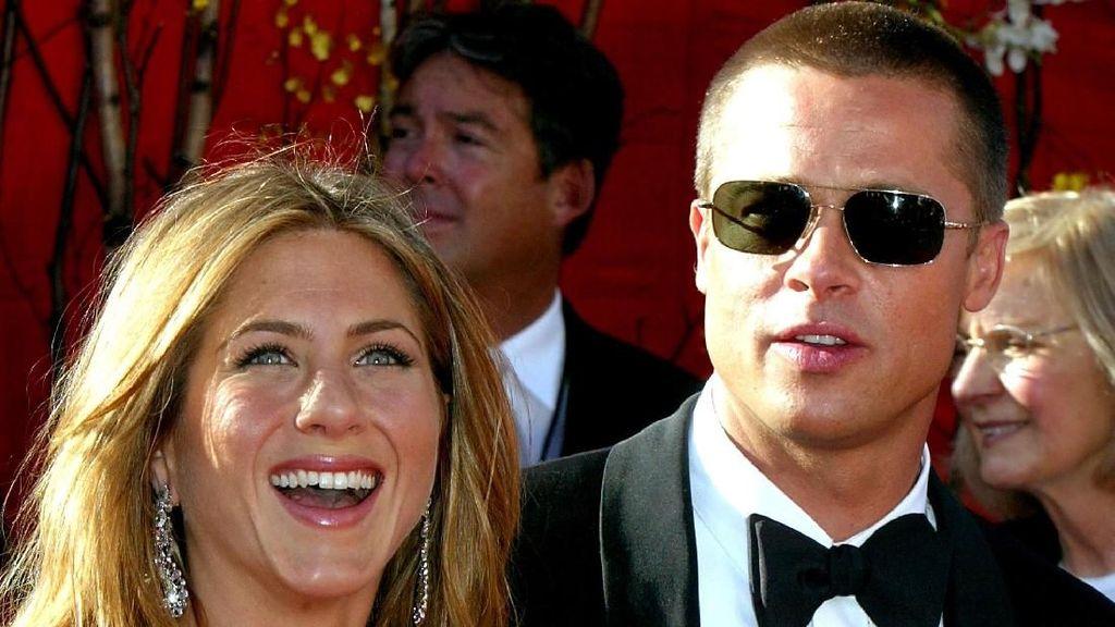 Brad Pitt dan Jennifer Aniston Disebut Kerap Bertemu Diam-diam
