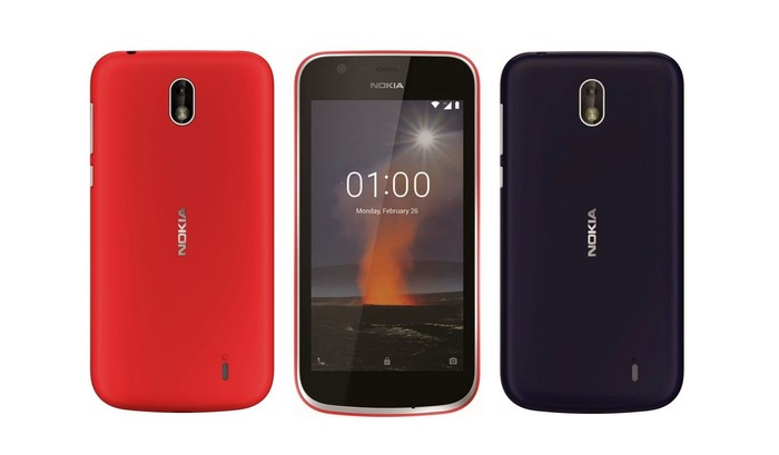 Bocoran wujud Nokia 1. Foto: Internet