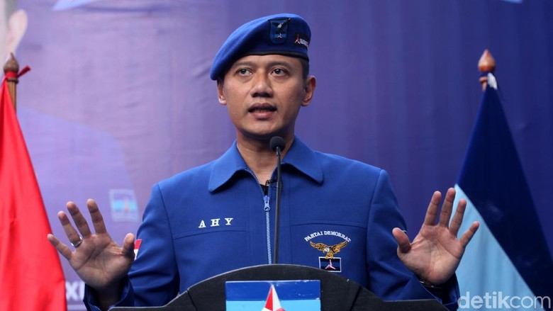 Tak Ada SBY di Pengundian Nomor Urut Parpol, AHY: Di Luar Kota