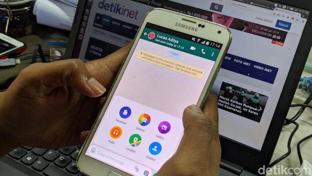 Ada Celah Saat Menghapus Pesan Terkirim WhatsApp