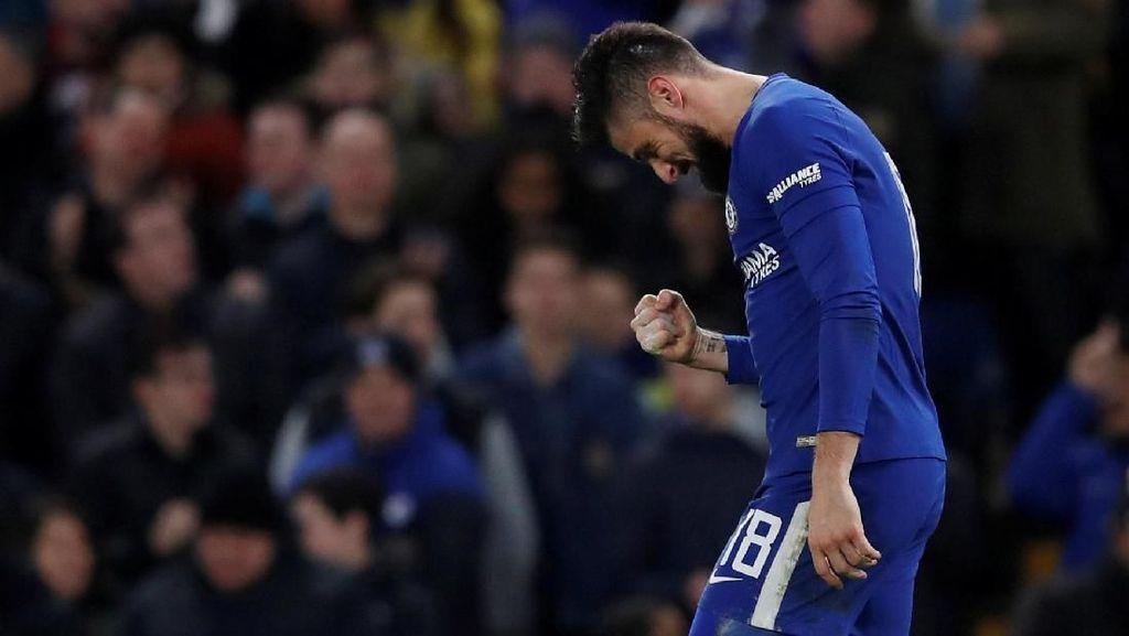 Deschamps Nilai Keputusan Giroud Tinggalkan Arsenal Sudah Tepat