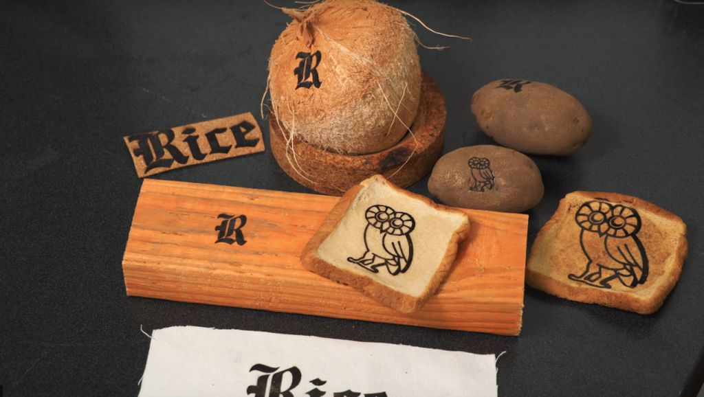 Gambar dan Tulisan Apapun pada Makanan Kini Bisa Dicetak dengan Laser