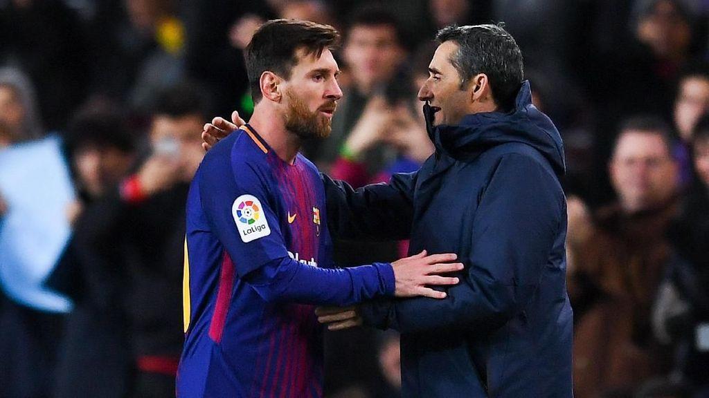 Diminta Jangan Terus-terusan Mainkan Messi, Ini Respons Valverde