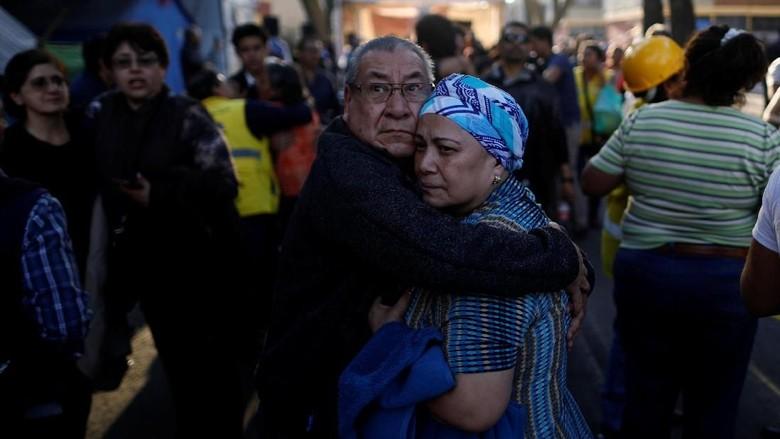 Gempa 7,2 SR Guncang Meksiko, Picu Kerusakan Ringan