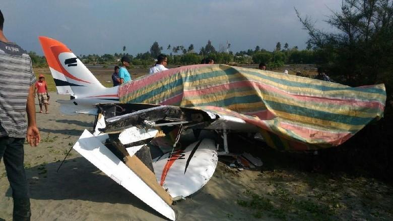Gubernur Aceh Selamat Saat Pesawat yang Dipilotinya Mendarat Darurat
