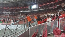 Final Piala Presiden di GBK: Pintu Dijebol, Pagar Dirubuhkan