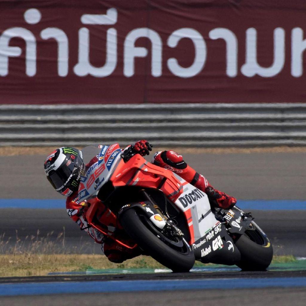 Lorenzo Belum Nyaman dengan Motor Baru Ducati