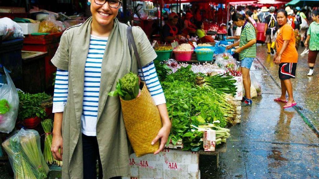 Menjelajah di Pasar Segar Klong Toey Bangkok, Ada Kepiting hingga Kodok Hidup