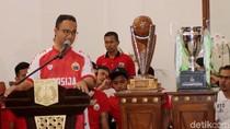 Persija Cetak Tiga Gol, Anies: Alhamdulillah Prediksi Saya Tepat