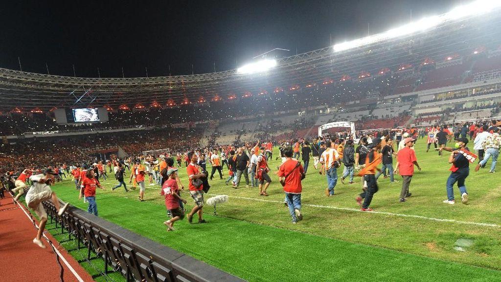 Persija Sesali Aksi Perusakan GBK oleh Suporternya