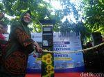 Keren, Risma Resmikan Kartu Parkir Eelektronik di Taman Bungkul