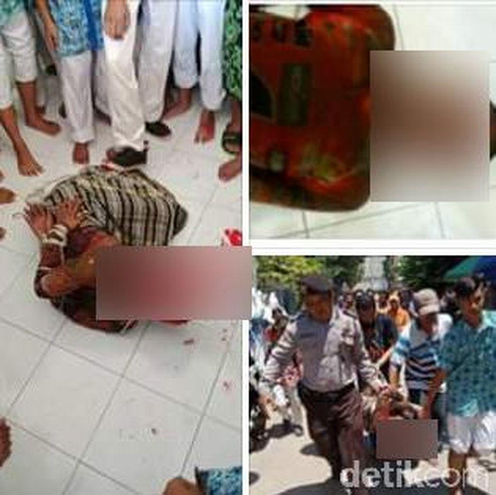 Viral Penyerangan dan Percobaan Pembunuhan Kiai di Lamongan
