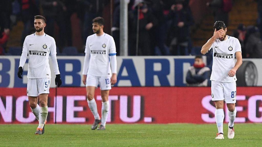Sempat Menjanjikan di Awal Musim, Inter Disebut Cuma Beruntung
