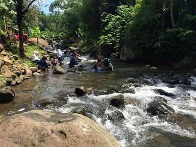 Ini Lho Wisata Sungai yang Lagi Hits di Ciamis