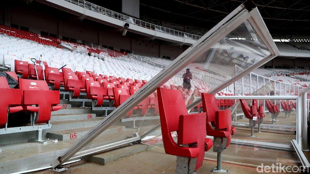 Wapres JK Nilai Pengerusakan Stadion GBK Dipicu Over Kapasitas