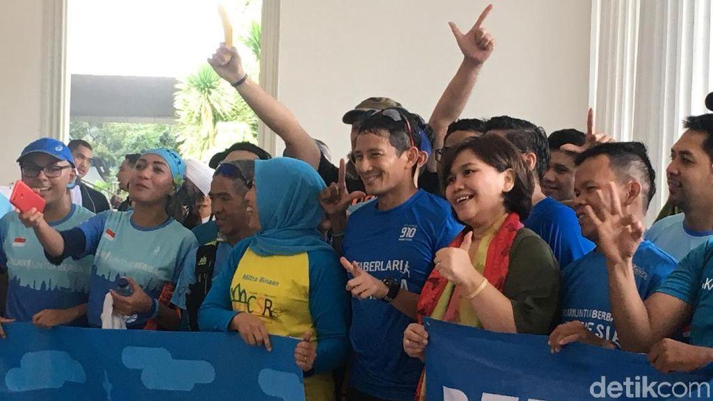 Beri Donasi ke 3 Yayasan, Sandi Ingin Kepedulian Warga Meningkat