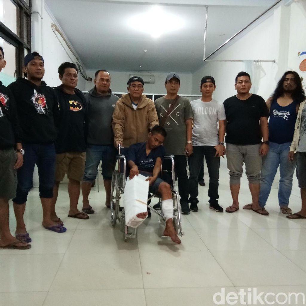 Hendak Tikam Anggota, Polisi Tembak Pelaku Begal Sadis di Makassar