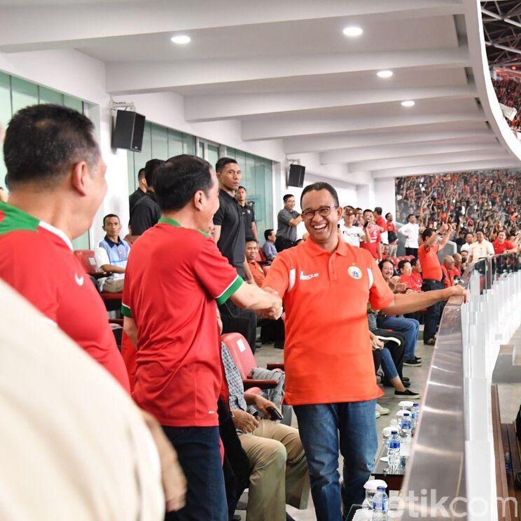 Dicegah Dampingi Jokowi, Anies: Paspampres Hanya Jalankan Tugas