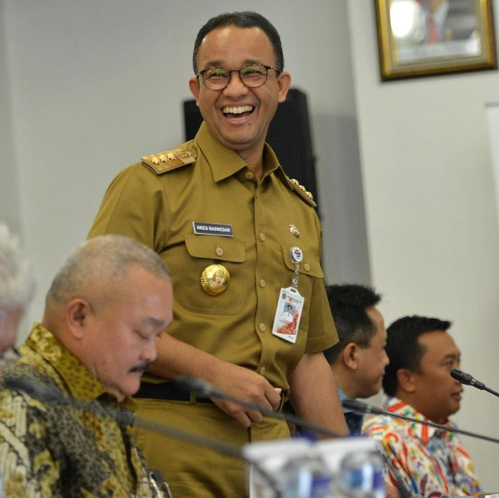 Anies Dipolisikan Terkait Penutupan Jalan Jatibaru Tanah Abang