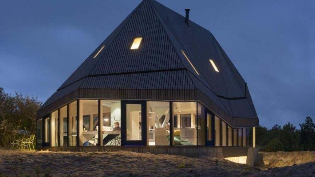 Rumah Kayu Tahan Cuaca Ekstrem Ini Dibangun Hanya Dua Hari