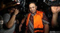Pemeriksaan Perdana Bupati Rudy Erawan Pasca Ditahan
