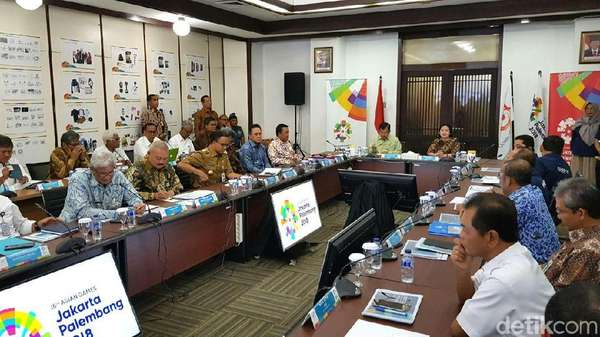 JK Pimpin Rapat Koordinasi Asian Games 2018