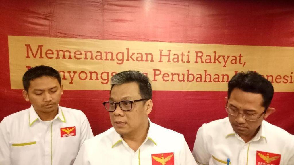 Partai Garuda Bantah Terkait dengan Keluarga Cendana