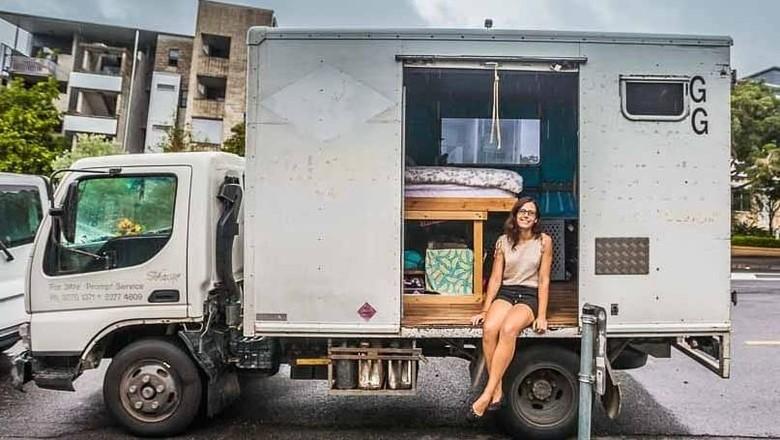 Foto: Ini Chrissie Junge, Gadis Brisbane yang Tinggal di Truk