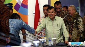 JK Pimpin Rakor Persiapan Asian Games 2018