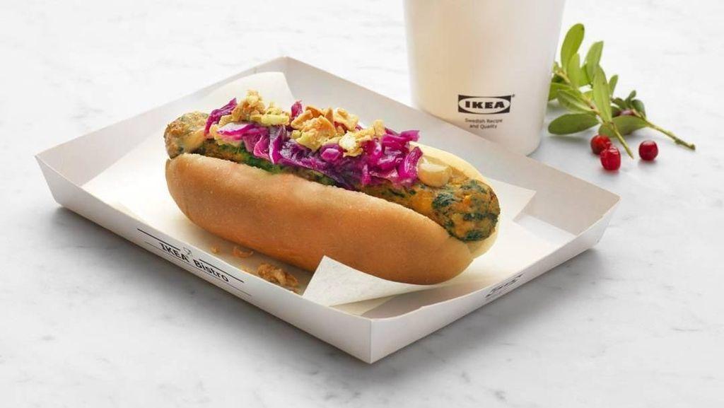 Yang Terbaru dari Ikea, Hot Dog Vegan Empuk Juicy!