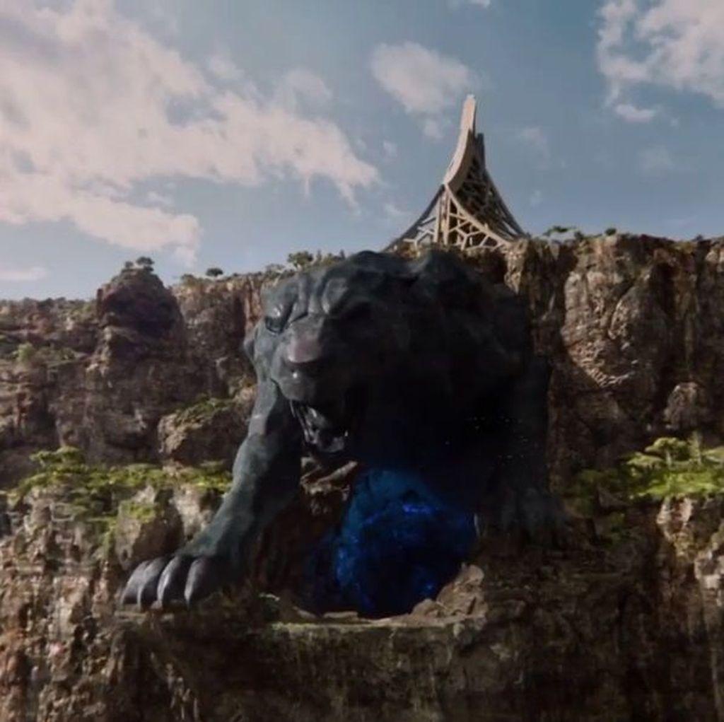 Wakanda, negara asal Black Panther, memiliki sumber daya alam bernama Vibranium, yang di film tersebut diklaim sebagai material terkuat di dunia. (Foto: Marvel)