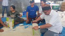 Sudirman Said Kunjungi Gudang Pengiriman Beras di Blora