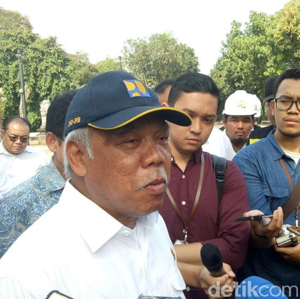 Taman GBK Dirusak, Menteri PUPR: Masa Kalah Sama Orang Surabaya