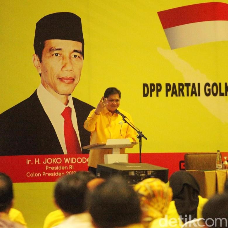 Golkar Akan Bahas Cawapres Jokowi Agustus 2018