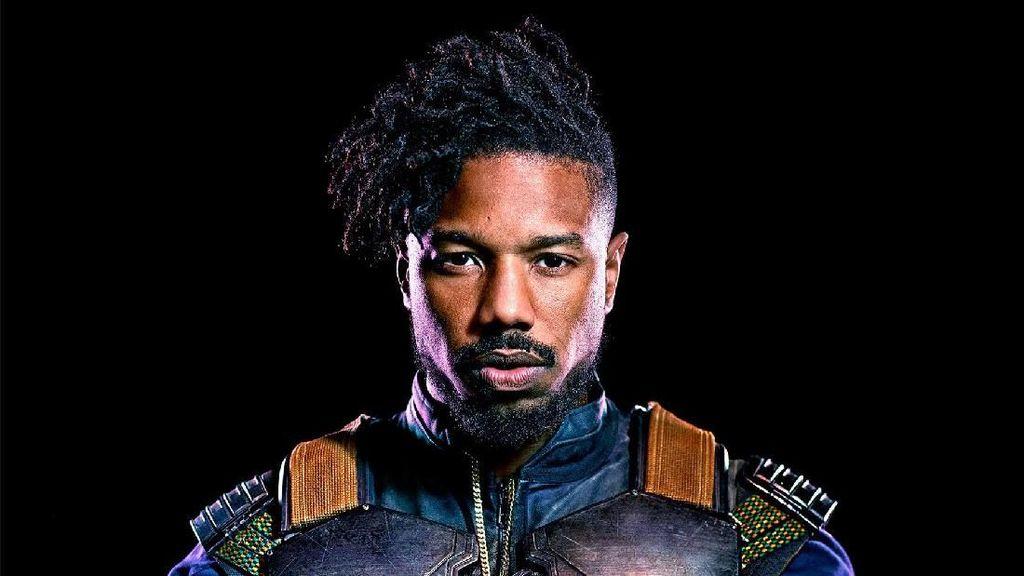 Michael B Jordan, Musuh Ganteng Black Panther yang Ototnya Curi Perhatian