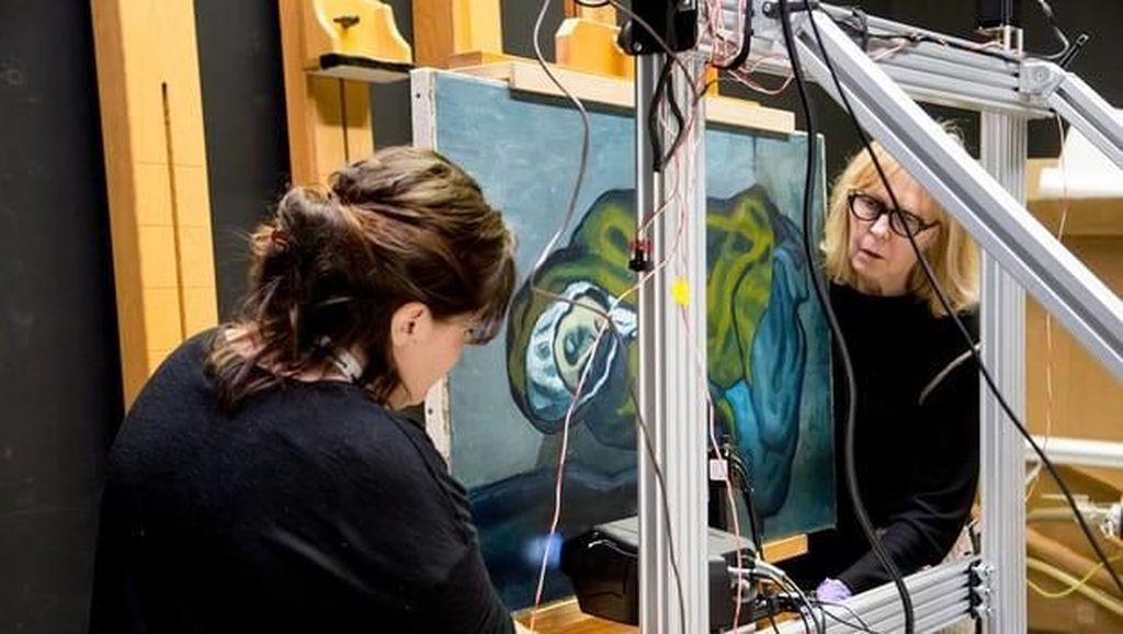 Wah... Ada Karya Tersembunyi di Balik Lukisan Pablo Picasso