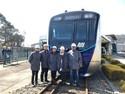 Kereta MRT Jakarta Diuji Coba di Jepang