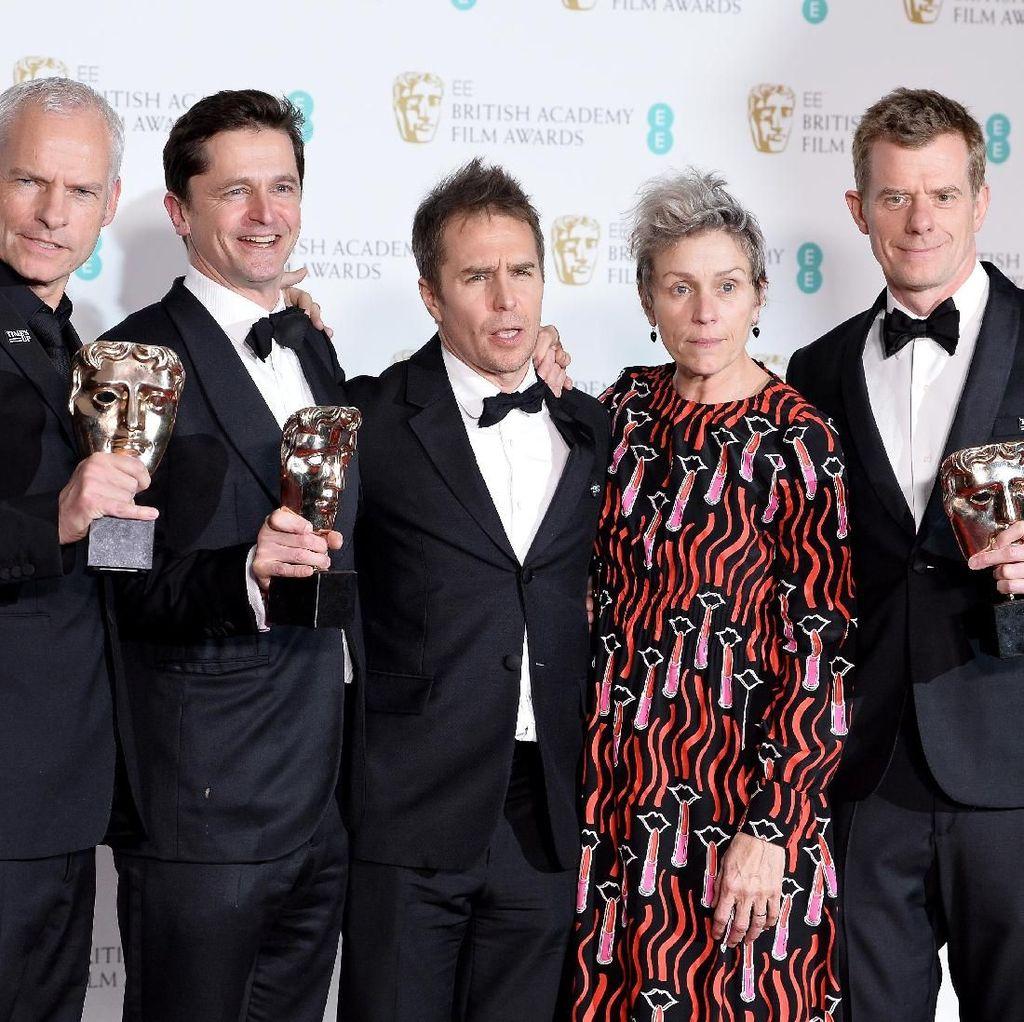 Three Billboards Outside Ebbing, Missouri Film Terbaik BAFTA 2018