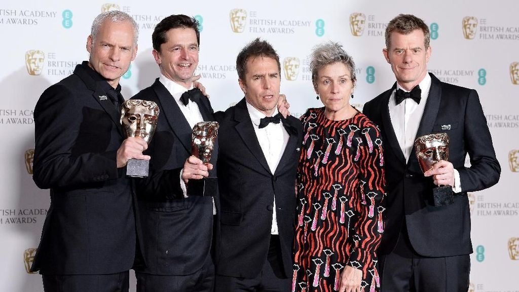 'Three Billboards Outside Ebbing, Missouri' Film Terbaik BAFTA 2018