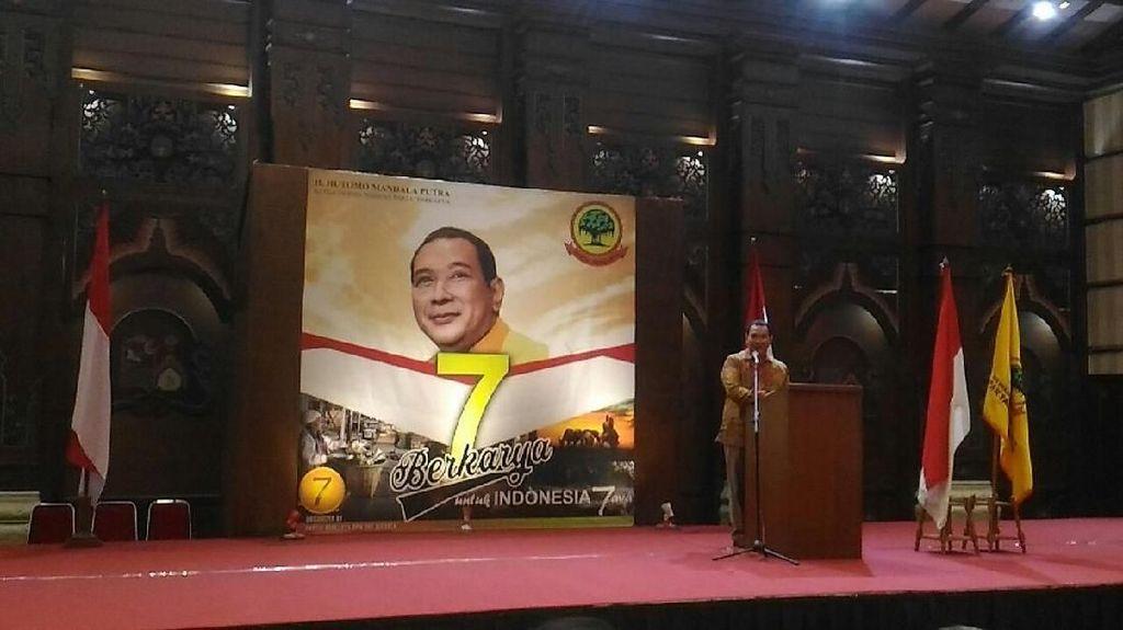 Partai Tommy Soeharto Targetkan 78 Kursi di DPR