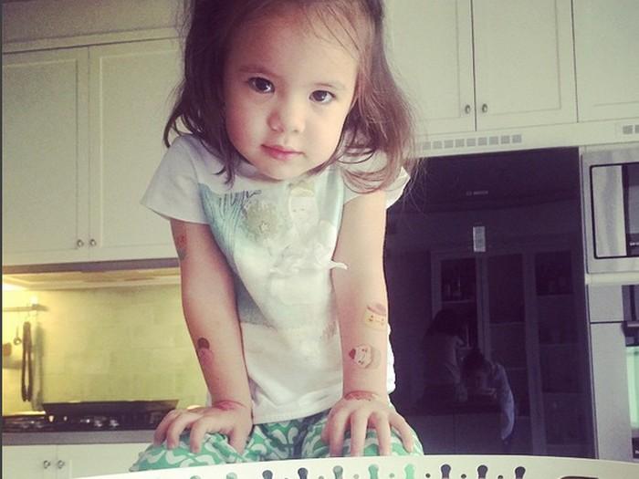 Ini Mila, Putri Daniel Mananta yang Menggemaskan