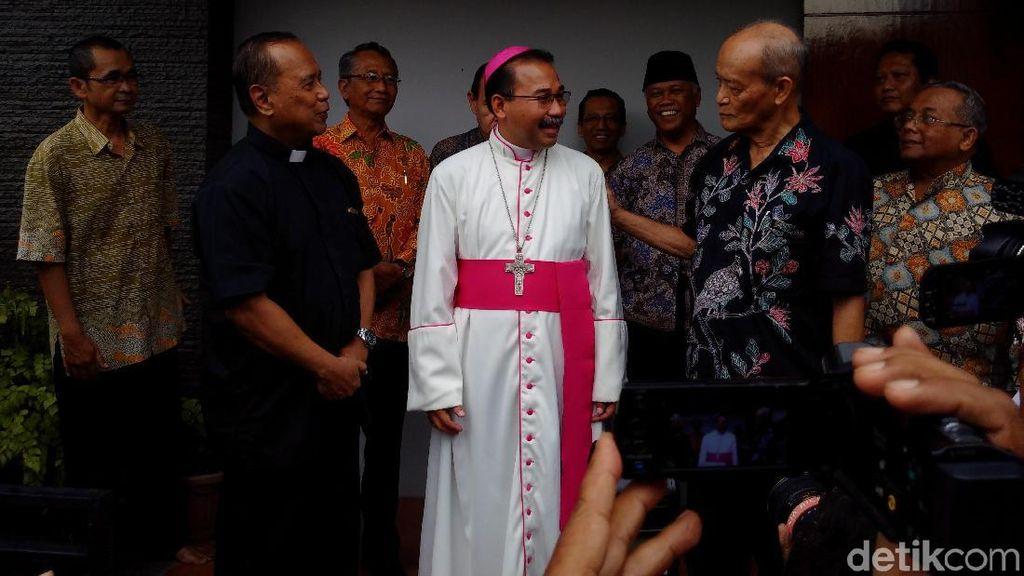 Sampaikan Terima Kasih, Uskup Agung Semarang Sowan Buya Syafii